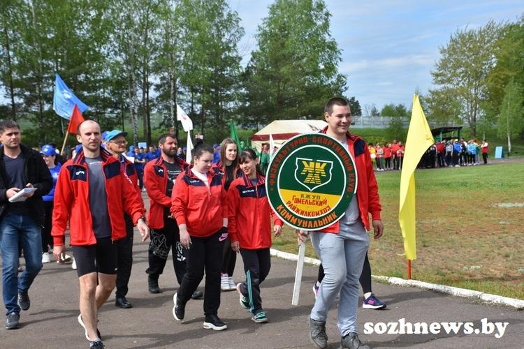 В агрогородке Новая Гута прошёл районный спортивно-массовый праздник «День Здоровья»