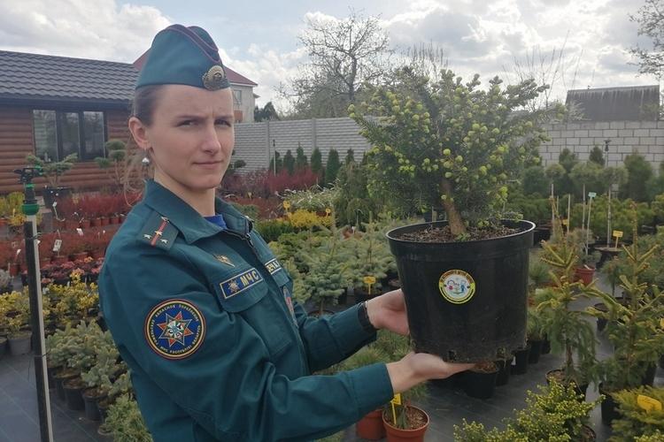 Пропагандисты Гомельского районного отдела по ЧС приняли участие в проекте «Безопасная рассада»