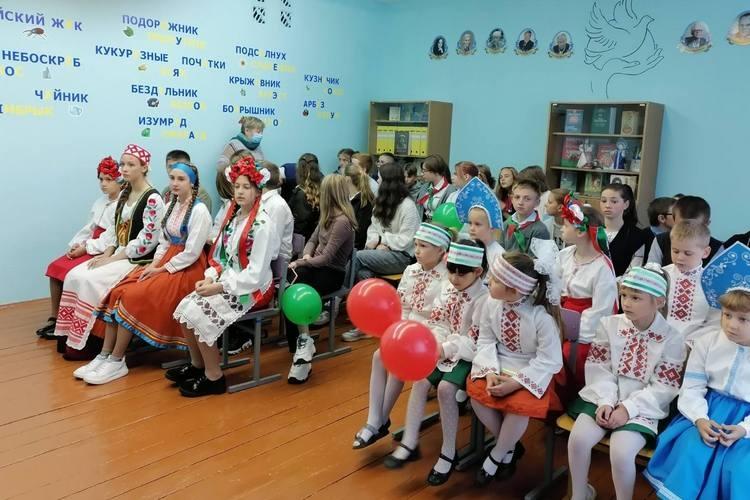 В День народного единства в Грабовском детском саду — средней школе состоялось открытие класса славянских языков